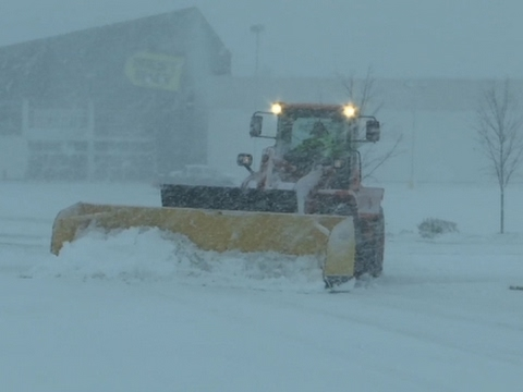 Storm Batters Mass. with Snow, Ice, Strong Waves