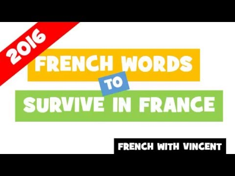 French words to survive in France # The metals