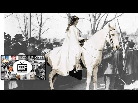 The Women's Suffrage Parade that Drowned Out Woodrow Wilson