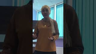 Моя презентация и обучение в Астане