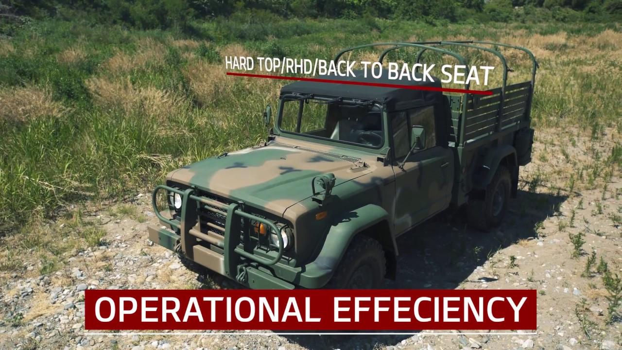 km450 cargo truck│Kia Motors Corporation's military vehicle ... on