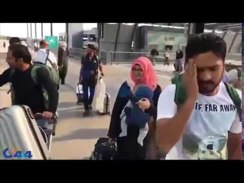 Pakistani Team Coming Back from London after India vs Pakistan FINAL ICC CT 2017 thumbnail