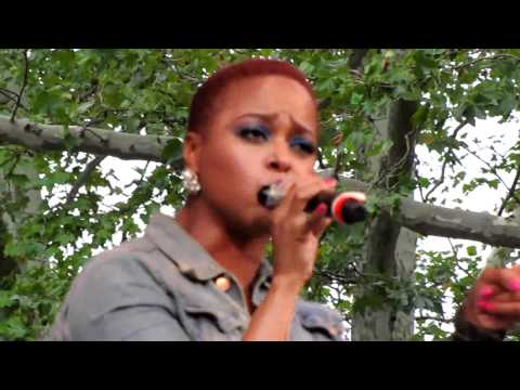 Chrisette Michele, Blame It On Me, Central Park Summerstage, NYC 8-21-10
