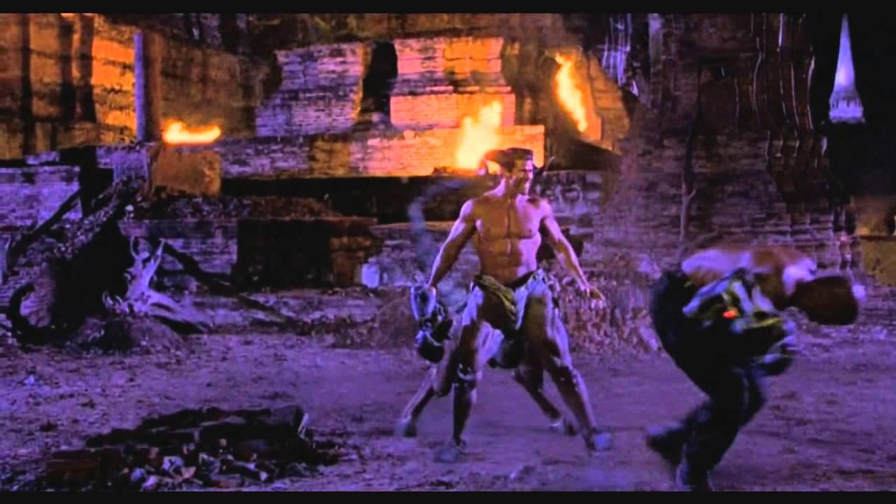 Jax vs Motaro | Mortal Kombat Annihilation 720p | Remix ...