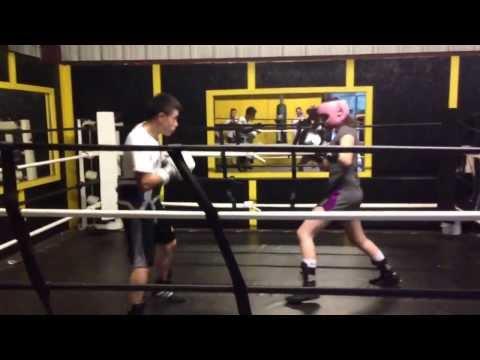 Cierra Tenderholt Conroe Texas boxing gym