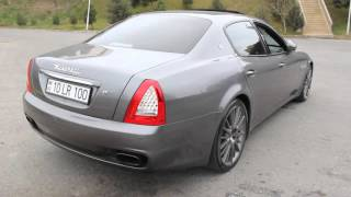 Maserati Quattroporte Sport GTS Amazing Exhaust sound