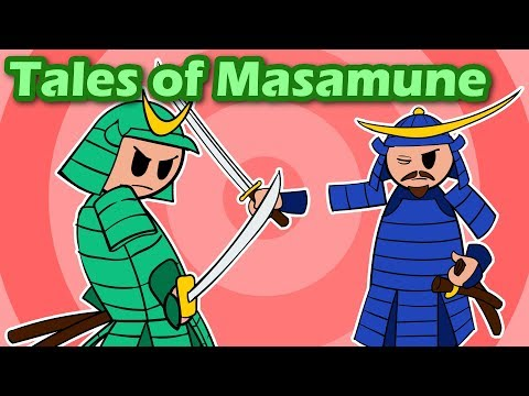Tales of Masamune Swords | Famous Weapons of Japan
