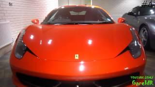 5 Ferrari 458 Italia @ H R Owen   In Detail   Interior, Exterior   720p HD
