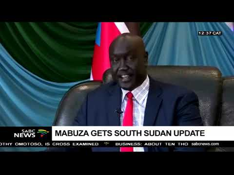 Mabuza gets South Sudan update