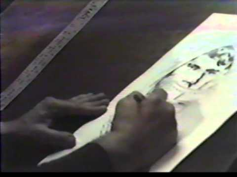 Jack Kirby draws - 17 March 1983
