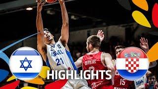 Israel v Croatia - Highlights - Final Game - FIBA U20 European Championship 2018