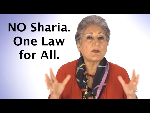 Raheel Raza: No Sharia, one law for all - Islam in a secular democracy