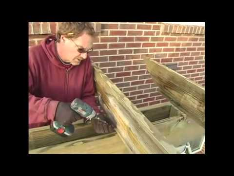 How To Build A Pergola 17 Attaching Cross Beams To