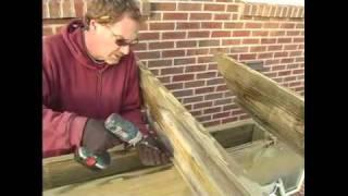 How To Build A Pergola - 17.attaching Cross Beams To Pergola