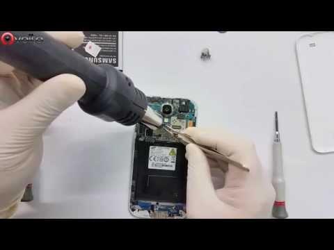 Samsung Galaxy S4 sim & micro SD card reader replacement GH59-13278A