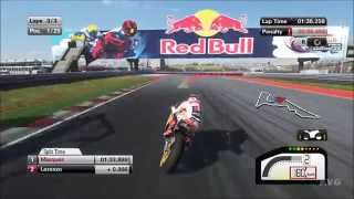 MotoGP 15 - Circuit of the Americas | Austin USA Gameplay (PC HD) [1080p]
