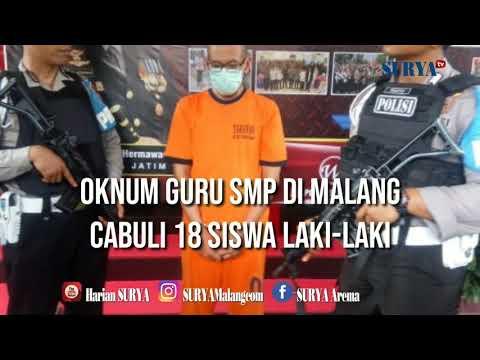 OKNUM GURU SMP DI MALANG KERJAI 18 MURID - Dalihnya Teliti Kenakalan Remaja Untuk Disertasi