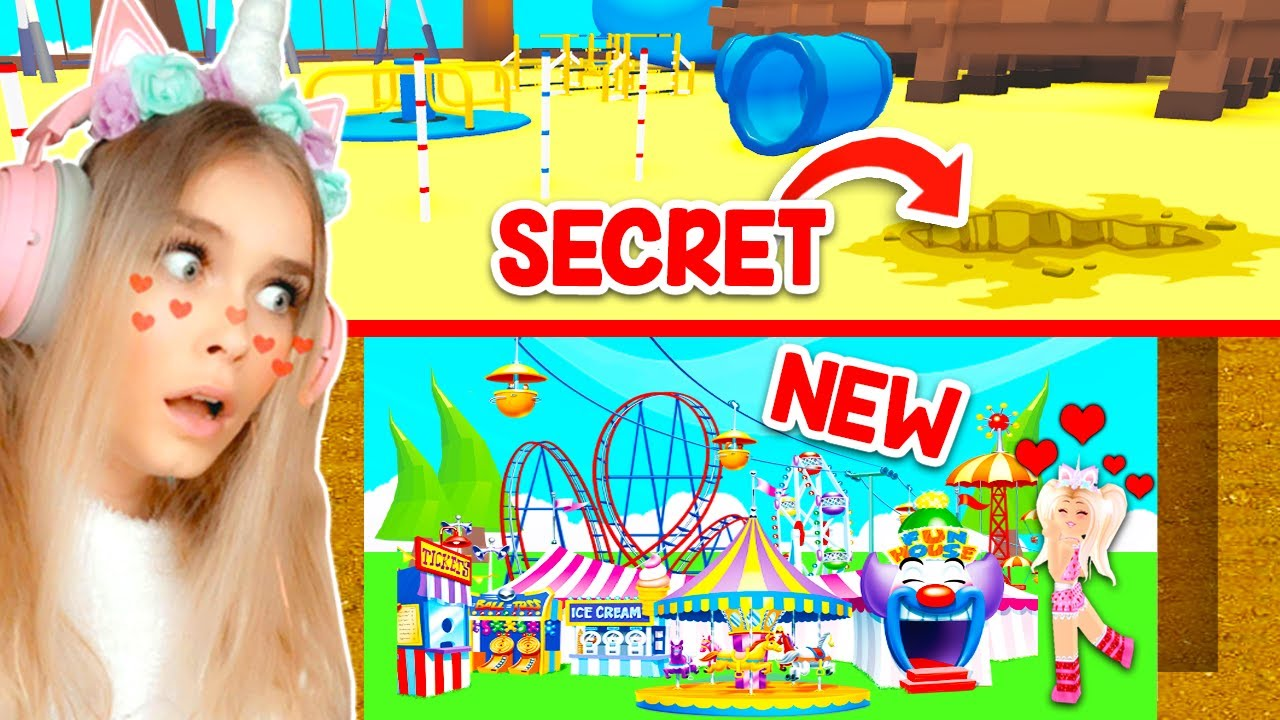 *NEW* SECRET PLAYGROUND In Adopt Me! (Roblox) thumbnail