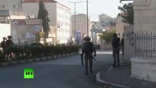Les affrontements à Ramallah après la décision de Trump sur Jérusalem