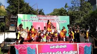 parai attam at chennai beef festival dadri killings protest
