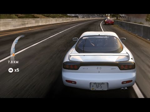 Need For Speed: The Run - Mazda RX-7 RZ 1998 - Test Drive Gameplay (HD) [1080p60FPS]