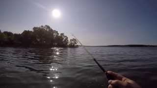 видео Лодка для рыбалки на можайском
