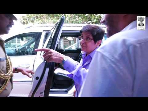''Save Your Head, Wear a Helmet; Else, No Licence'' : Dr. Kiran Bedi