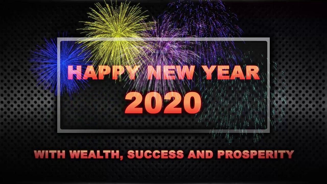 Happy New Year 2020 Wishes Of Whatsapp Status Video