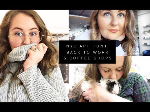 NYC APT Hunt, Back to Work & Coffee Shops | Shelly Coco