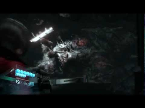 Resident Evil 6 Ada Absorbed By Mutated Carla Blob