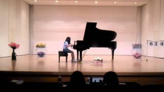 장윤지 피아노 콩쿨 Scherzo op.16 No.2 in E minor 학년대상