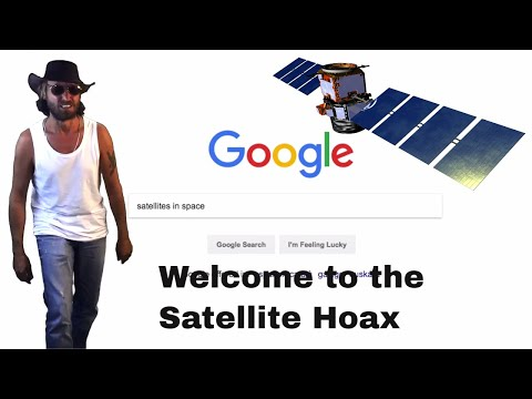"NEW SONG! Flat Earth Man ""Welcome to the Satellite Hoax"" 📡"