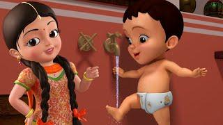 बच्चों के लिए स्वस्थ आदतें गीत | Hindi Rhymes for Children | Infobells