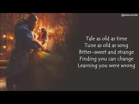 Ariana Grande & John Legend – Beauty and the Beast (lyrics)