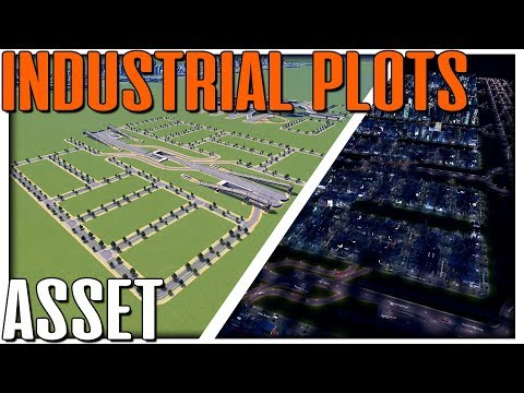 Cities Skylines High Capacity Layout Assets for Industry