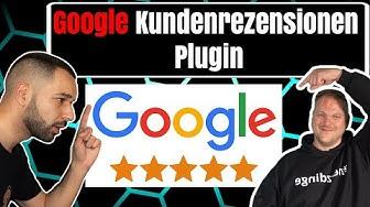 ⭐️ Google Kundenrezensionen Plugin - Kundenrezensionen sammeln und Google Sterne anzeigen lassen ⭐️