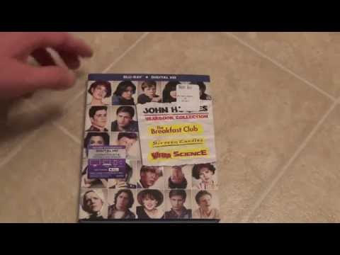 John Hughes Yearbook Collection Blu-Ray Unboxing Breakfast Club Sixteen Candles Weird Science