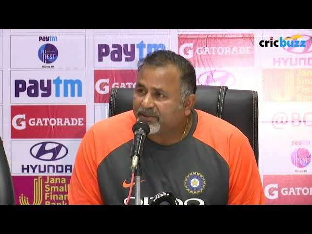 Every Test match we play, gives us players we can use in the future - Bharat Arun