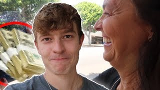 Surprising My Mother after 200 Days..
