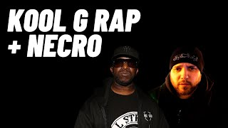 Necro & Kool G Rap on The Godfathers album, Once Upon A Crime   Interview   TheBeeShine