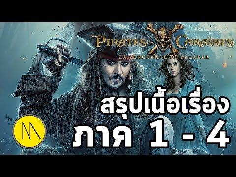 เตรียมตัวก่อนดู : Pirates of the Caribbean: Dead Men Tell No Tales (ไทย) : สรุปเนื้อเรื่องภาค 1 - 4