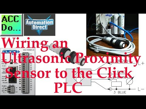 Wiring An Ultrasonic Proximity Sensor To The Click PLC