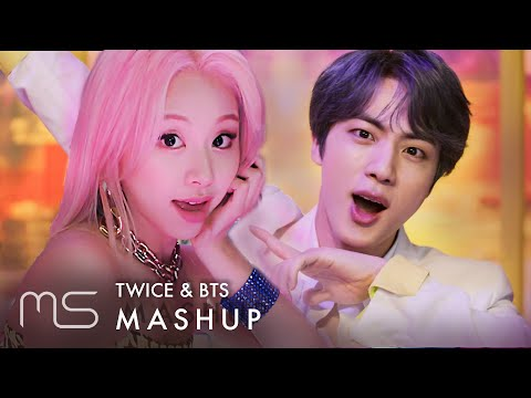TWICE \u0026 BTS – Fancy / Boy With Luv (작은 것들을 위한 시) MASHUP feat. Halsey \u0026 GOT7 - Lullaby (Inst.)