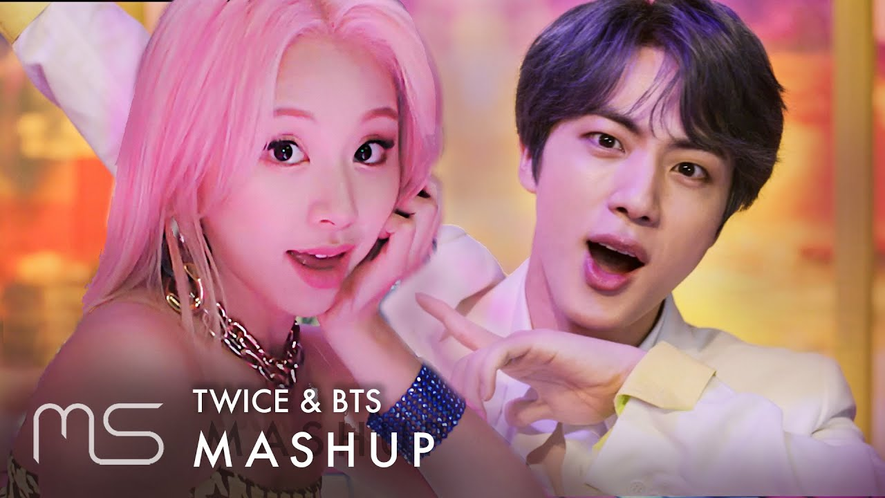 TWICE & BTS – Fancy / Boy With Luv (작은 것들을 위한 시) MASHUP feat  Halsey & GOT7  - Lullaby (Inst )