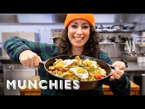 Breakfast Pasta with Farideh – The Cooking Show