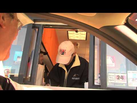 Saratoga Jockeys Pay Visit to Dunkin' Donuts