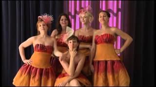 """Minute promo des """"Cinq filles couleur pêche"""" au Festival off d'Avignon 2012"""