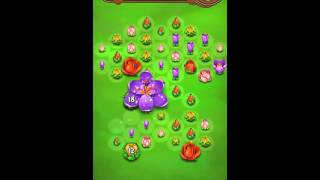 Blossom Blast Saga Level 194 No Boosters