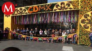 Alistan Festival de las Flores en el Centro Histórico de CdMx