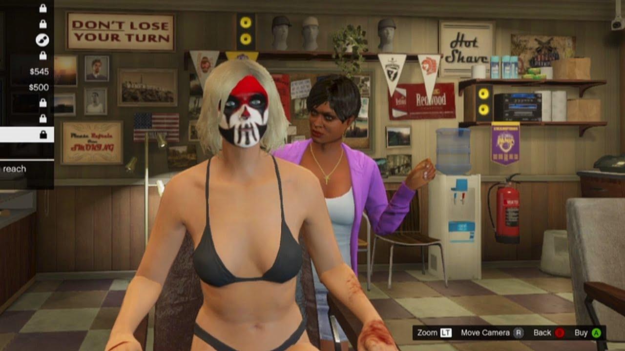 gta 5 online multiplayer juggalo face paint abk anybody killa